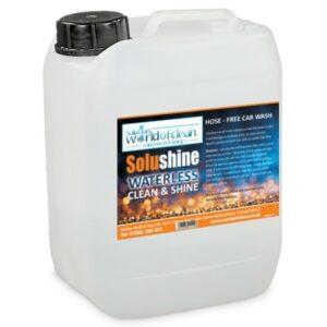 Solushine waterless wax