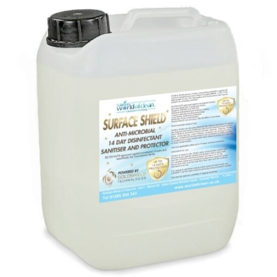 Surface Disinfectant Sanitiser Shield