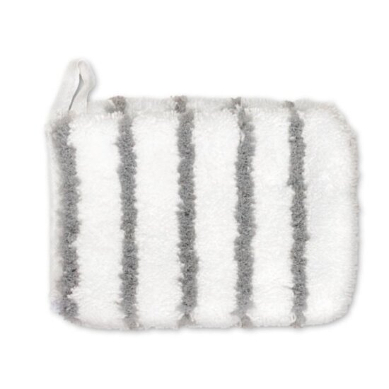 Microfibre grey striped Mitt