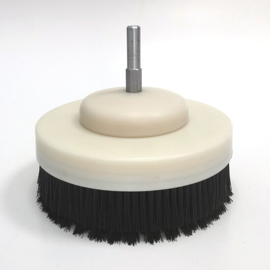 Drill Brush for upholstery cleaning