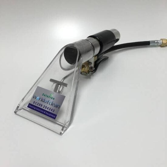 Upholstery Detail Tool With Clear Removable Head