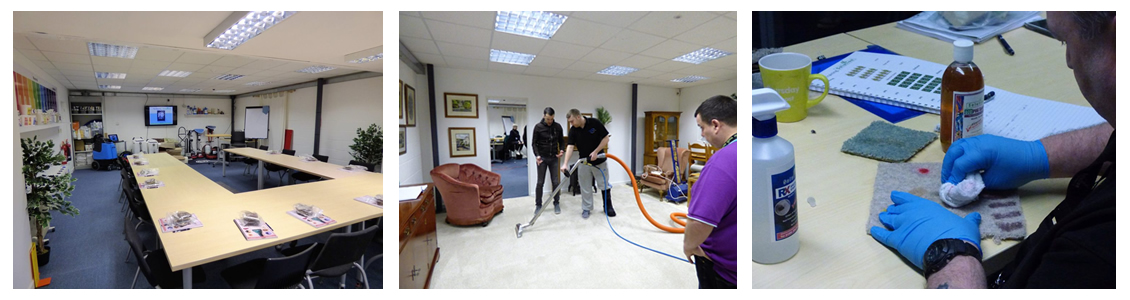 Upholstery Cleaning Training